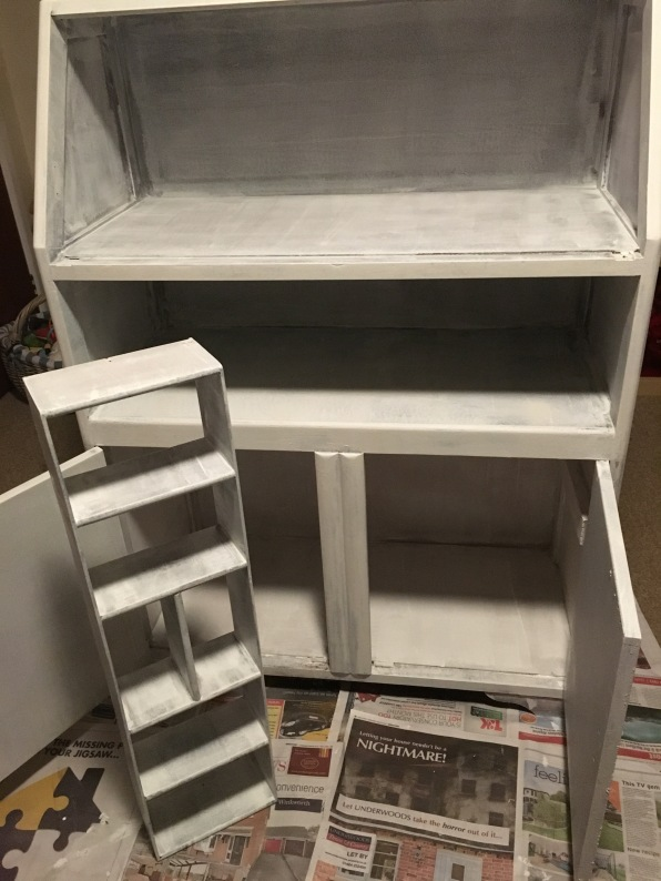 This is with the first coat of primer done.